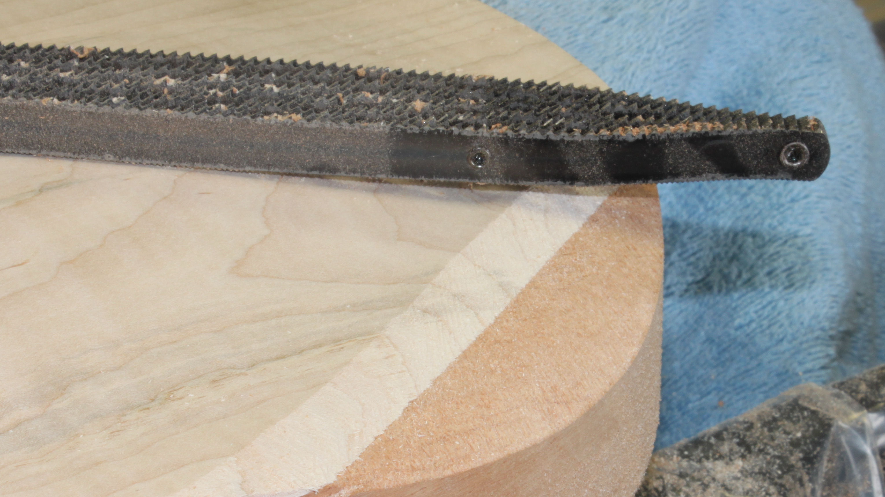 Japanese shinto saw rasp philadelphia luthier tools supplies front contour bevel on guitar body ccuart Gallery
