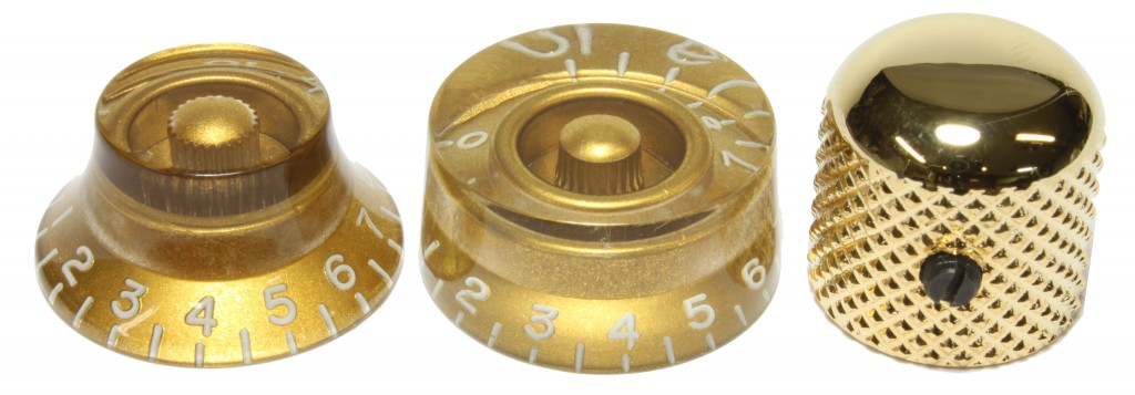 Bell, Speed and Dome knobs