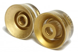 Recessed and non-recessed knob examples