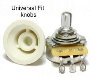 Universal Fit strat knob